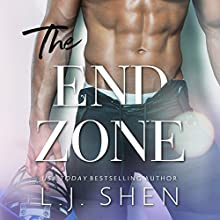 The End Zone Audiobook by L. J. Shen Narrated by Tessa Ellory, Joe Arden