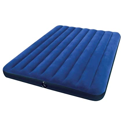Intex Matelas Gonflable Downy Queen 2 Pers 203x152x22 Cm
