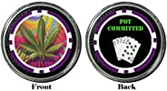 Card Guard - Pot Committed Protector Holdem Poker Chip/Card Cover