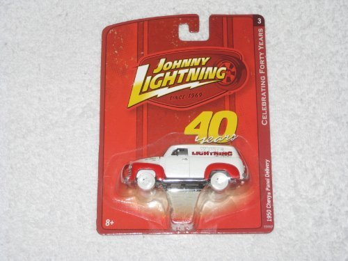 1950 Chevy Panel - Johnny Lightning White Lightning 1950 Chevy Panel Delivery