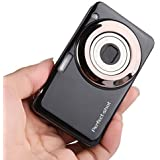 Fotocamera Digitale Compatta, Stoga V600 2,7 pollici TFT fotocamera digitale 15MP 1280 X 720 HD video e Zoom otticco 5X con batteria al litio anti-movimento Riconoscimento Sorrisi fotocamera digitale-nero