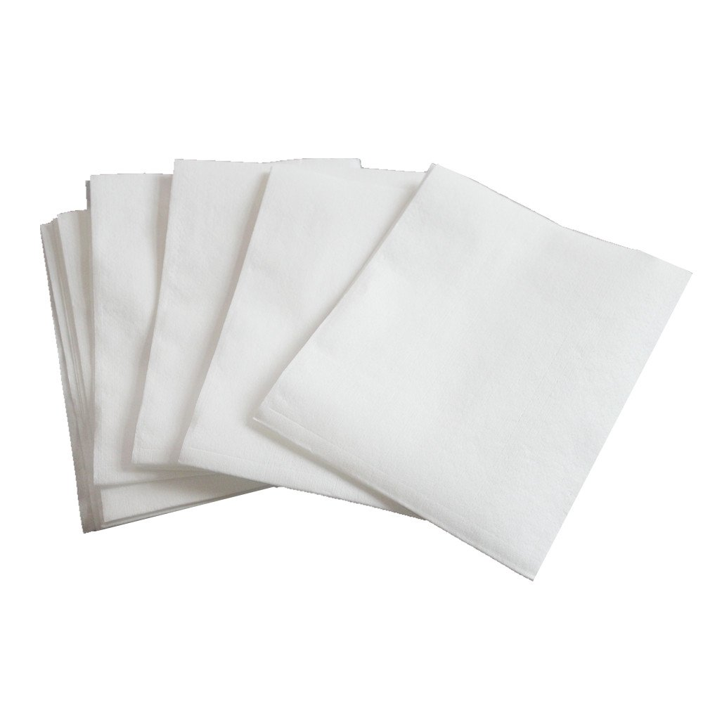 JEBBLAS Industrial Cleaning Wipers Disposable Shop towel Absorbent Paper Towels White 100 Sheets