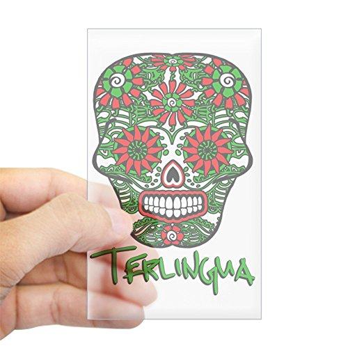 CafePress Terlingua Chili Pepper Sugar S Rectangle Bumper Sticker Car Decal ()
