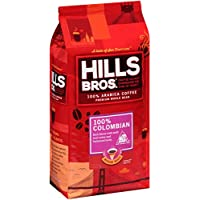 Hills Bros 32 Ounce 100% Colombian Whole Bean Coffee