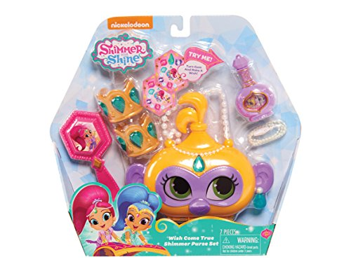 Shimmer and Shine Wish Come True Shimmer Purse Set -