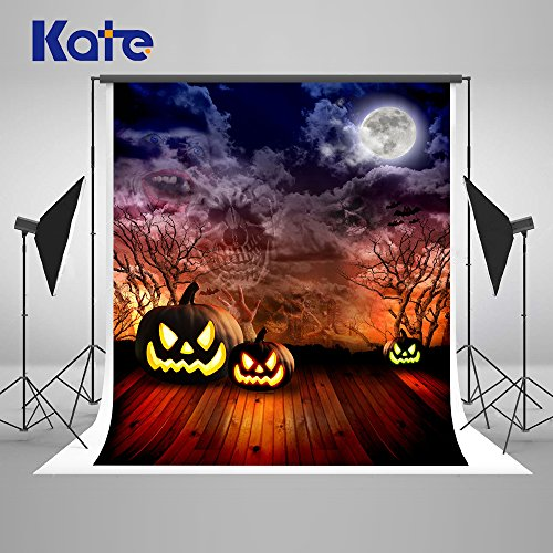 Kate 5x7Ft Halloween Huanted Night Backdrops for Photography High End Velvety Collapsible Cotton Cloth for Children Photo Studio Props La toile de la photographie]()