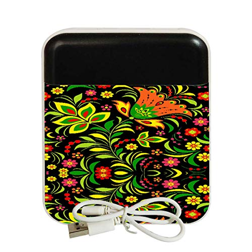 OPLUS Printed Power Bank Smart Portable Charger 10000mAh BIS Approved for Apple and Android Smartphone