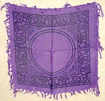"""1 X Celtic Altar or Tarot Cloth 18"""" x 18"""""""