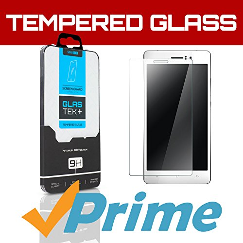 SOJITEK OPPO R5 Premium Ballistic Tempered Glass Screen Protector with Lifetime Replacement Warranty - High Definition (HD) Ultra Clear 99.99% Clarity and Touchscreen Accuracy Smart Film - Retail Packaging 2014 (0.33mm, 2.5D Rounded borders)