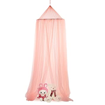 Princess Bed CanopyHomeey Canopy Tent Reading Canopy Pink Crib Canopy Play Canopy for Kids  sc 1 st  Amazon.com & Amazon.com : Princess Bed Canopy Homeey Canopy Tent Reading ...