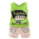Luxsea Summer children's clothing boy boy print vest - Best Reviews Guide