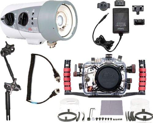 Nikon D7000 Underwater DSLR Housing 6801.70 & DS160 Strobe Package 4060.1 by Ikelite