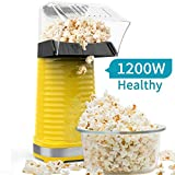 Be1 Electric Hot Air Popcorn Popper Maker for Home Party Kids, No Oil...