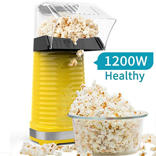 Be1 Electric Hot Air Popcorn Popper Maker for Home Party