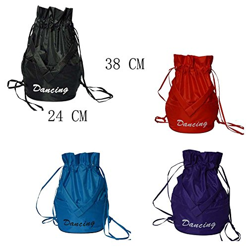 Drawstring A4 Dance Children's Package Ballet Black Latin Temptation Bags Dance Bag Shoulder OPw4gYExq