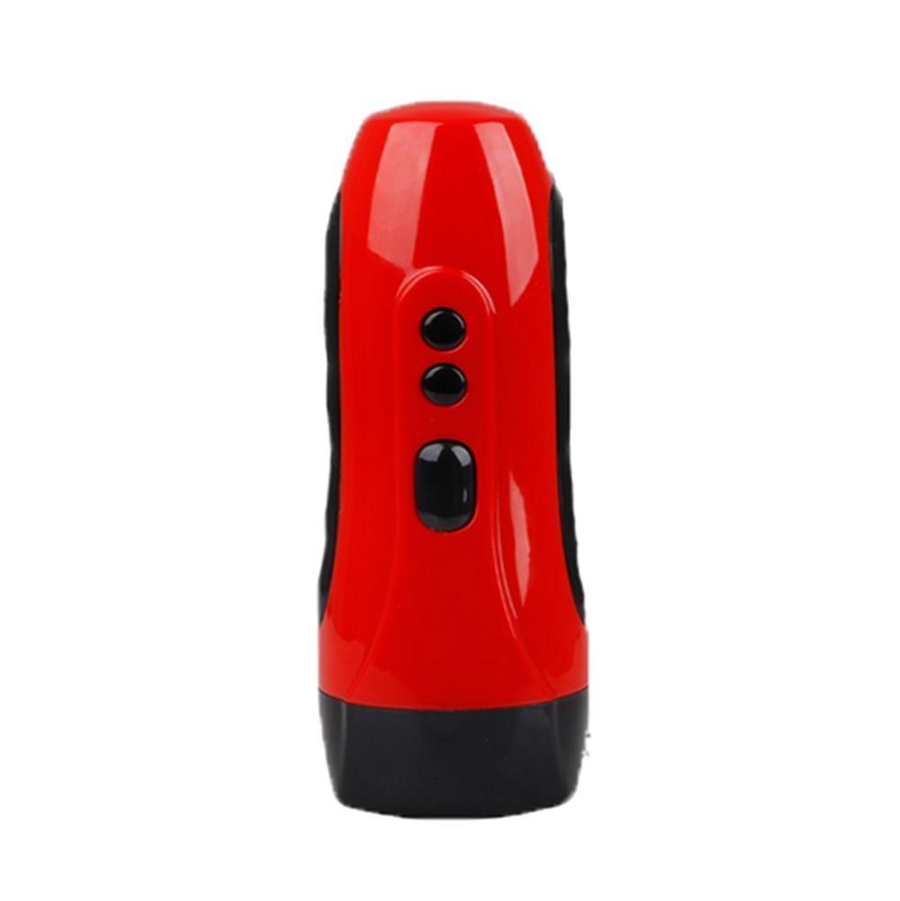 Cargador del interfaz del USB del massager masculino, eléctrico mano-sostenido, suave vibración fuerte, silicón suave mano-sostenido, dc055f