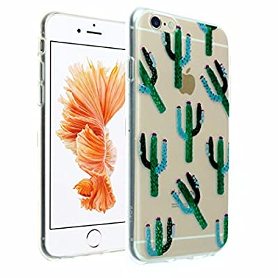 "iPhone 6s Case, iPhone 6 Case Clear with Pattern, DURARMOR® FlexArmor [Lifetime Warranty] Soft Flexible TPU Bumper Case Ultra Thin ScratchSafe Shock Absorbing Protective Cover for 4.7"" iPhone 6s / 6"