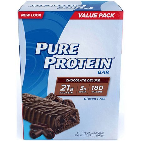 Pure Protein Chocolate Deluxe Bars, 6-1.76 oz