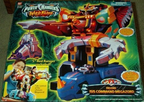 Power Rangers Deluxe Isis Command Megazord Wild Force Electronic Action Figure