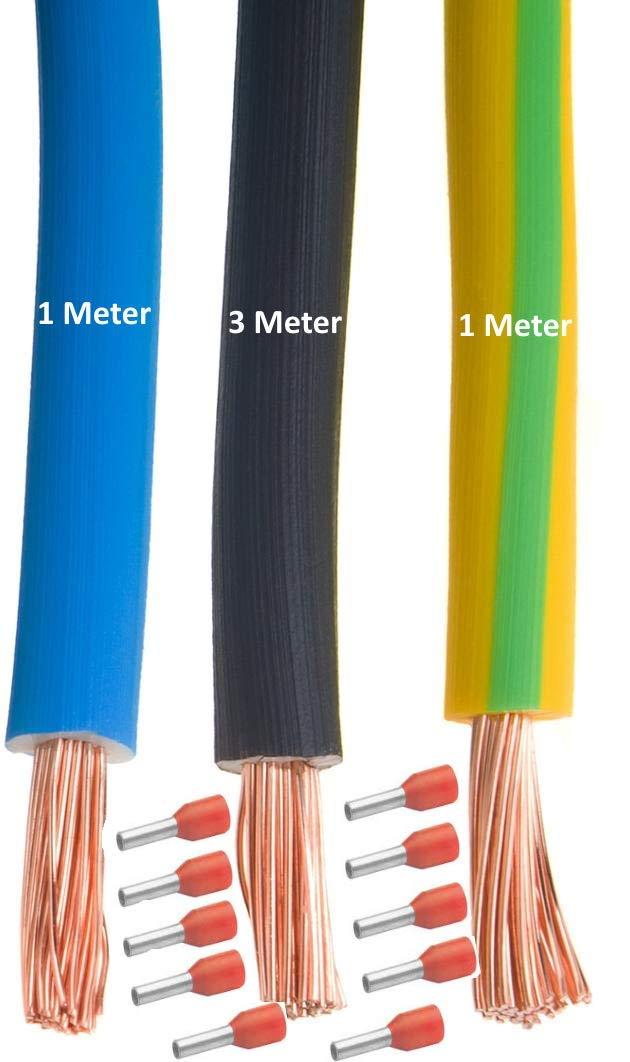 Details about  /89 Stück Elektrische Kabel Schutz Gummi Verdrahtung Ösen 10mm Innendurchm.