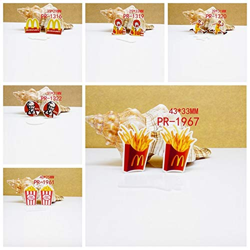 Lavenz 30 pcs Food planar Resin Ribbon PR 1967 ()
