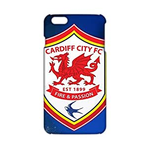 ANGLC Cardiff City FC Sport Logo (3D)Phone Case for iphone 4 4s case