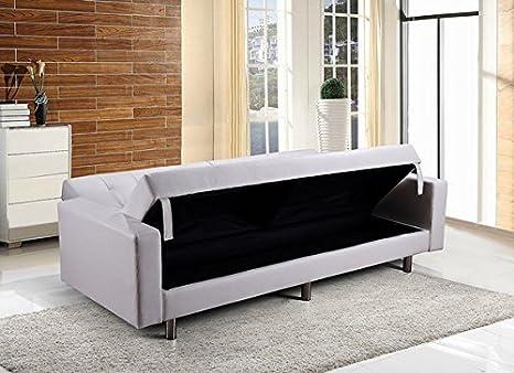 Sofá cama Bagno Italia con espacio de almacenamiento ...