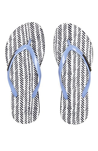 Armani Exchange Womens Herringbone Flip Flop