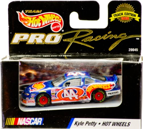 Hot Wheels Kyle Petty #44 Pro Racing 1998 Track Edition Diecast Car
