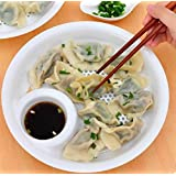 Drain Dumplings Dish Food Grade PP Double Fruit Drain Dish Vinegar Dish