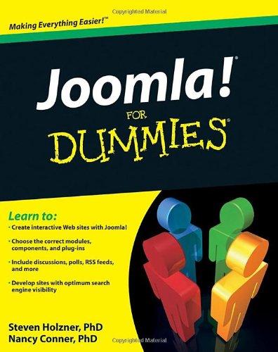 Joomla! For Dummies by Nancy Conner , Steve Holzner , Steve Holzner Ph.D., For Dummies