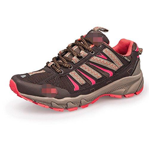 Primavera Y Otoño Los Amantes Al Aire Libre Sra CHT Zapatos Para Caminar Red