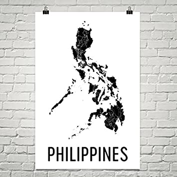 Amazon philippines map map of philippines philippine philippines map map of philippines philippine philippines art philippines print philippines publicscrutiny Images