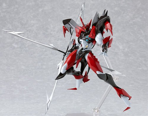 Tekkaman Blade Space Knight Tekkaman Evil Figma (Non-scale PVC Pre-painted Movable ABS & Pvc) [Japan Imports] by Animewild