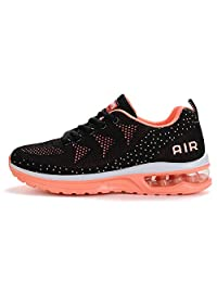 LIN&LV Women's Lightweight Athletic Running Shoes Breathable Sport Air Fitness Gym Jogging Sneakers