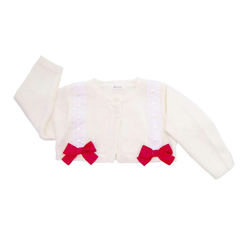 Bunniee Baby Cardigan Little Girls Cardigan Sweater Bolero Dresses Long Sleeve Baby Shrug for Dance Dress Up Lace