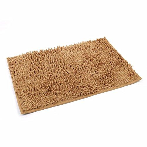 1 Set Soft Shaggy Carpet Rugs Bathtub Mat Toddler Anti Slip