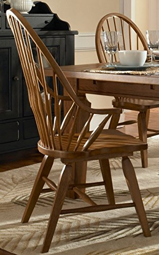Broyhill 5397-84S Attic Heirlooms Dining Chairs, Natural Oak ()