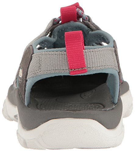 KEEN Womens Newport EVO H2 Hiking Shoe Neutral Gray/Raspberry Xy1O8R9