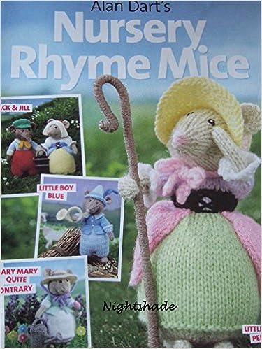 Simply Knitting Alan Darts Nursery Rhyme Mice Knitting Pattern