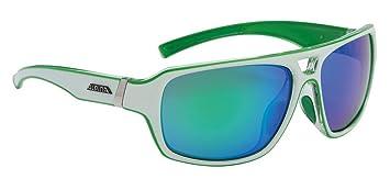 Alpina Sport Style Yuko Sonnenbrille, Pink-White Transparent