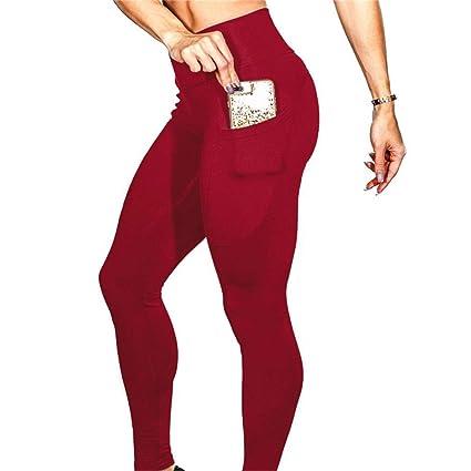 e61f038492ac Amazon.com   DODOING Womens High Waisted Tummy Control Butt Lifting ...