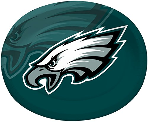 Creative Converting Philadelphia Eagles Platters