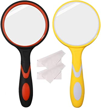 Kid 4x Magnifying Glass Insects Bug Exploring Magnifier Nature Educational Toy