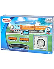 Bachmann Trains - Thomas with Annie and Clarabel Ready to Run Electric Train Set - N Scale