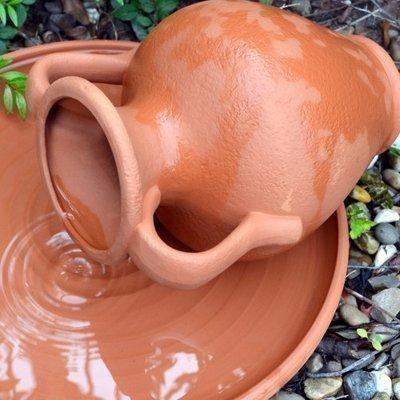 Anfora in terracotta per l' acqua Weston Mill Pottery