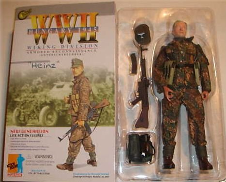 DRAGON 1/6 scale WWII GERMAN WAFFEN SS WIKING DIVISION HEINZ (1/6 Scale Dragon)