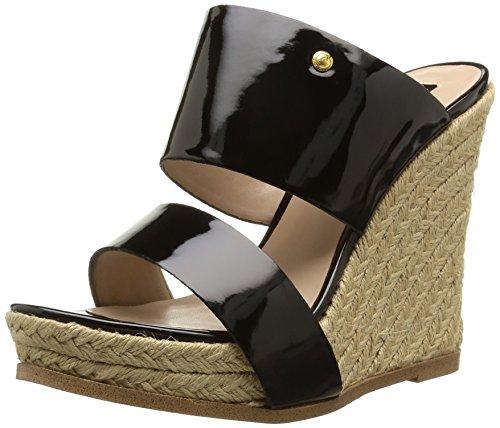 Juicy Couture BRIEEE - Sandalias para mujer Black Patent