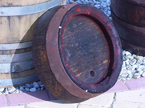 JUNIT 15 Liter runder Bierfassabschnitt gebraucht aus 50L-Eichenfass