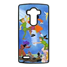 Durable Rubber Cases LG G4 Cell Phone Case Black Ijgmd Peter Pan Protection Cover